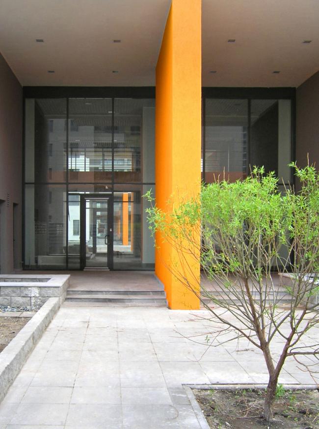 Дома по адресу ул. Эрвье, Тюмень. План этажа © Архитектурное Бюро ОСА