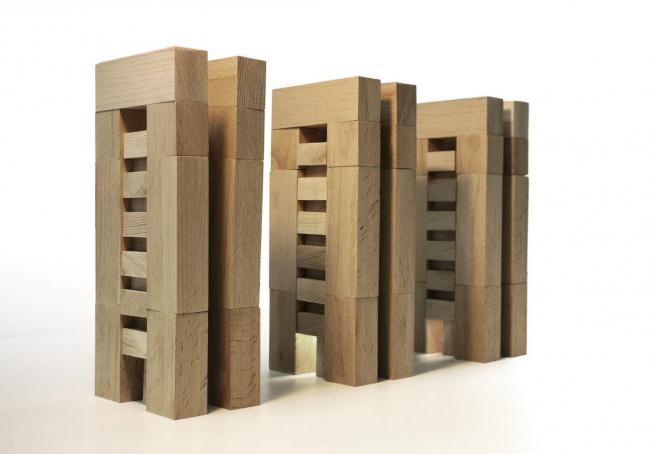 Дома по адресу ул. Эрвье, Тюмень. Макет © Архитектурное Бюро ОСА
