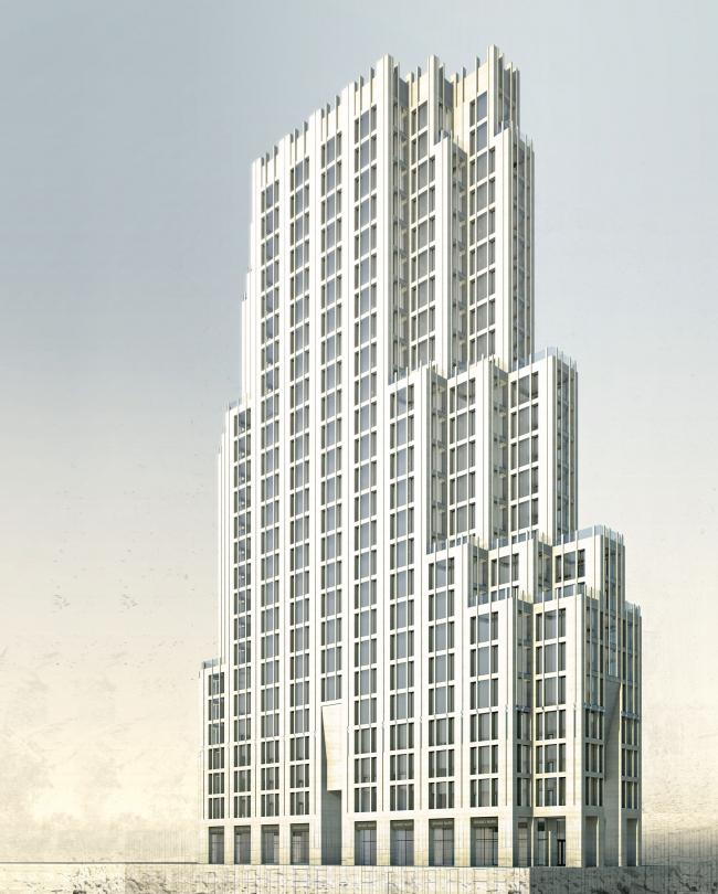 Апарт-отель бизнес класса «Эверест» © Архитектурное Бюро ОСА