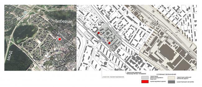 Ситуационный план, схема генплана © Архитектурное бюро «Богачкин и Богачкин»
