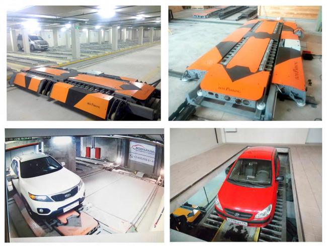 Технологическая система паркинга (фото) © BoxParking