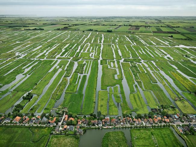 Польдеры и каналы Голландии