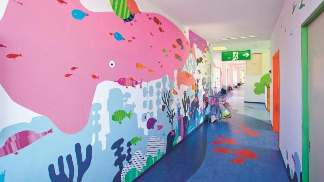 Детский сад Makigaoka в Японии.  Фото предоставлено Forbo