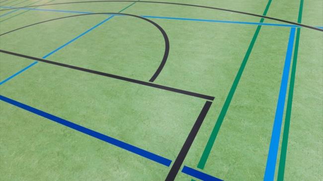 Спортзал в Хазервинкеле, Германия. Фото предоставлено Forbo