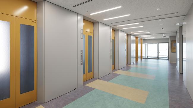 Университетская клиника в Токио.  Фото предоставлено Forbo