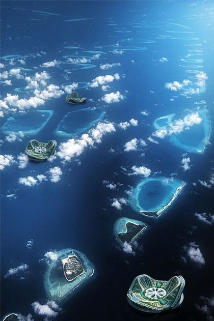 Проект LILYPAD у Мальдивских островов
