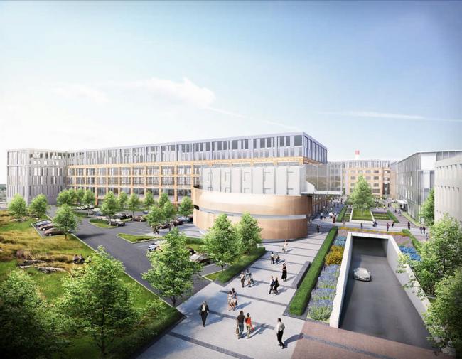 Культурно-деловой комплекс «Большевик»  / John McAslan+Partners, ГК «Олимпроект»