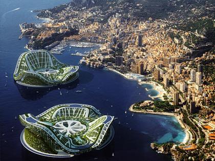 Проект LILYPAD у побережья Монако