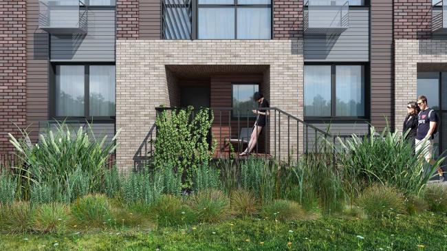 Housing complex at the Varshavskoe Highway © Olimpproekt Group