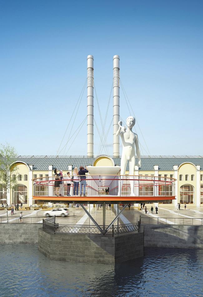 Музей современного искусства ГЭС-2 © Renzo Piano Building Workshop