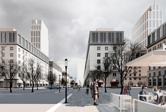 Мельковские кварталы. Вознесенский проезд © Архитектурное Бюро ОСА
