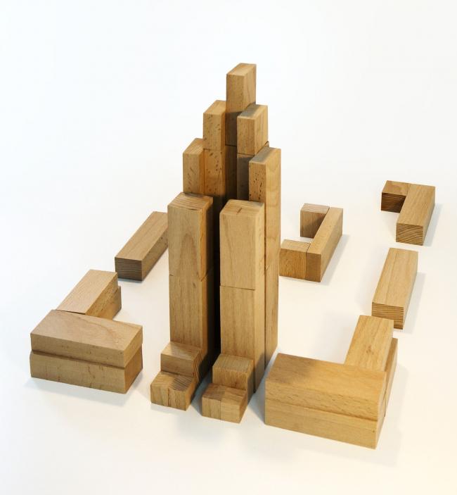 Первомайская I. Макет © Архитектурное Бюро ОСА