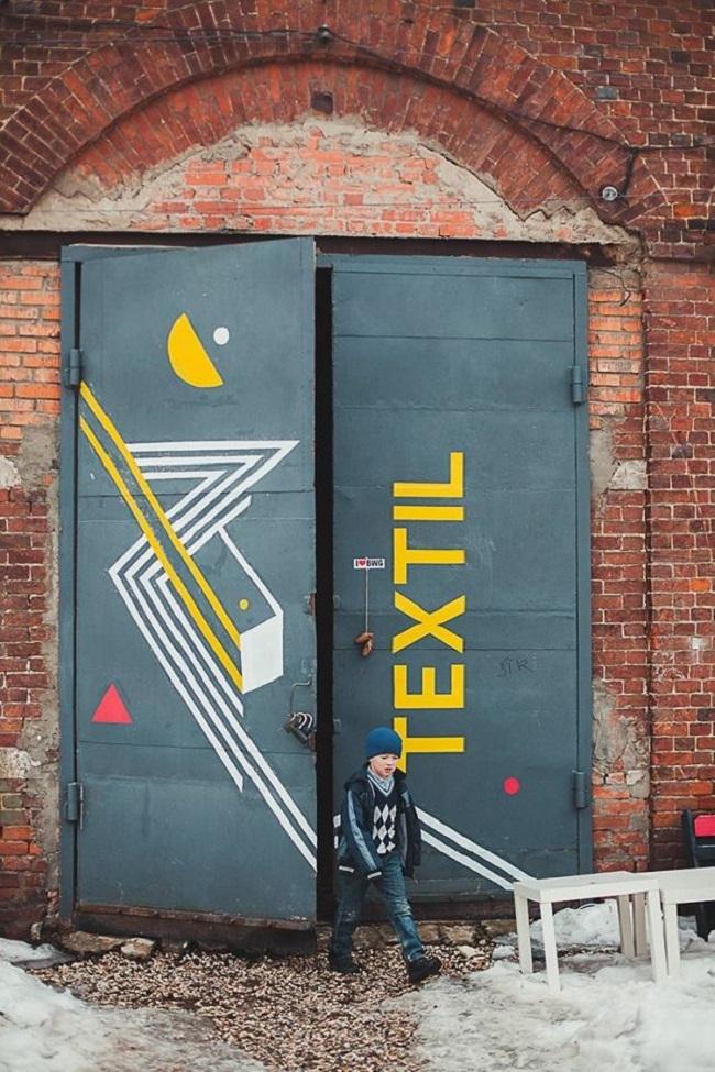 Культурно-коммуникационный центр TEXTIL © Kremnev atelier