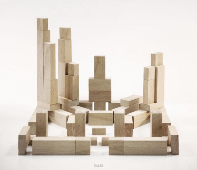 Симановские кварталы. Макет © Архитектурное Бюро ОСА