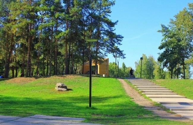 Парк «Алые паруса», Воронеж. Автор проекта: архитектор Оливье Даме