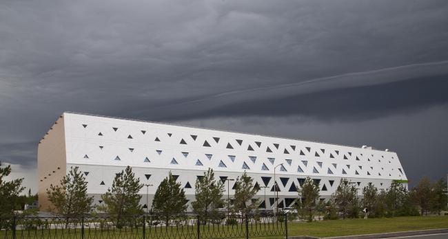 Спорткомплекс Иннополиса © Архитектор Тимур Степанов