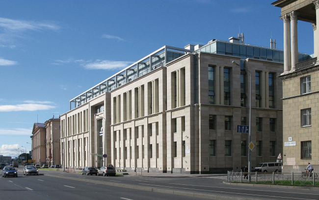 Административное здание «Транснефть» © Архитектурно-проектный центр Мамошина