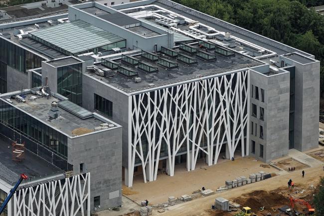 Хорошевская гимназия. В процессе строительства. Фотография © А-Проект