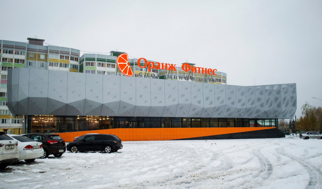 Спортивный клуб «Оранж-фитнес» © ООО «КМТ Проектный отдел»