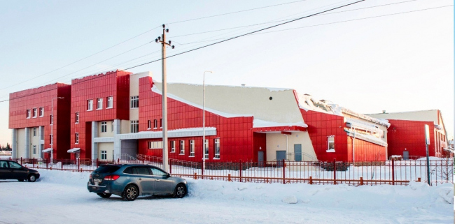 Школа в пгт Междуреченский © АРТ проект
