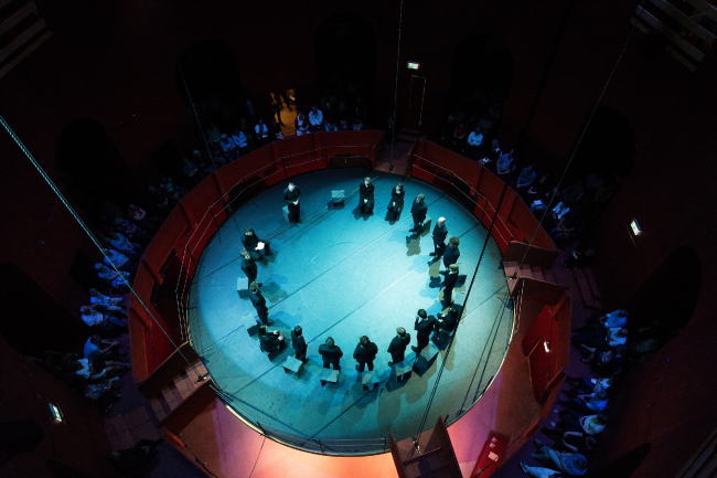 Опера «Апокалипсис» в Juliertheater © Origen Festival Cultural