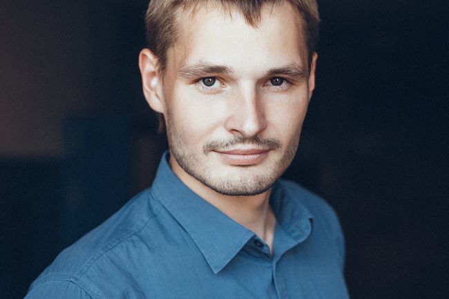 Архитектор Никита Маликов. Фотография из личного архива архитектора