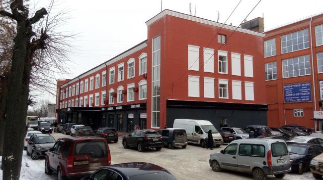 Экономреновация здания бывшего АБК под многофункциональный центр. После реновации. Реализация, 2016 год. Фотография предоставлена Никитой Маликовым