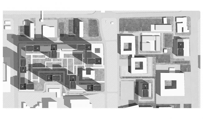 ЖК «Прайм парк». Генеральный план © Проектное бюро АПЕКС