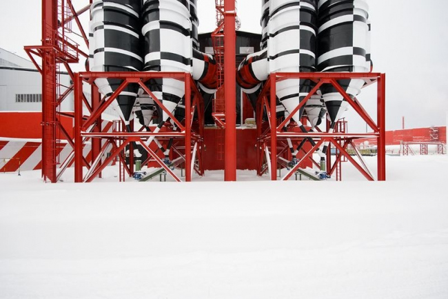 Электросталеплавильный комплекс «Железный Озон 32» © Дизайн-студия «Ё-программа»
