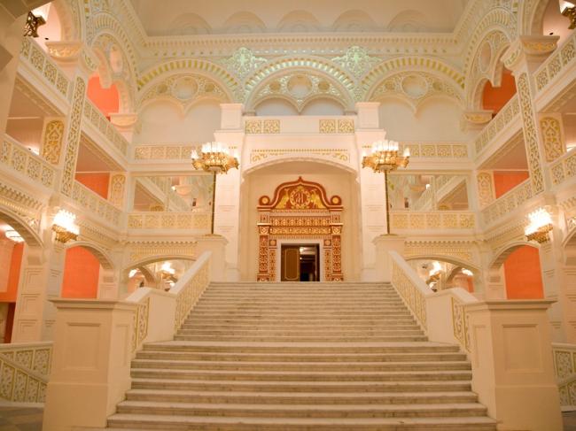 Театр оперы и балета в Астрахане © Архитектор А.М.Денисов