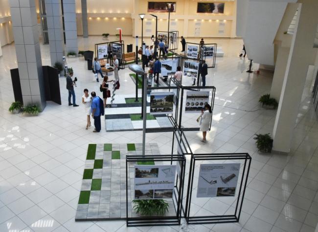 Выставка проектов благоустройства в Доме Правительства в Красногорске. Фото ©mosreg.ru