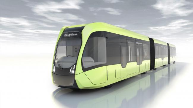 Трамвай Autonomous Rail Rapid Transit (ART) © CRRC