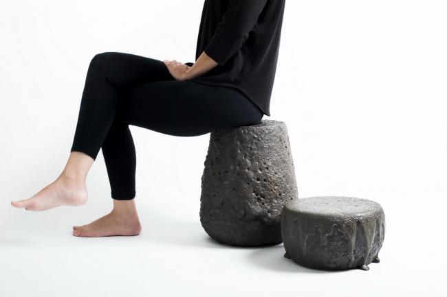 Мебель из лавы чилийских вулканов Remolten © Aryeh Kornfeld