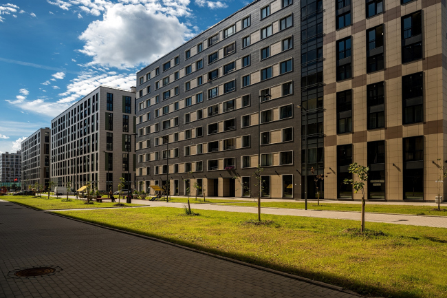 """Tsarskaya Stolitsa"" housing complex © Evgeny Gerasimov and Partners"