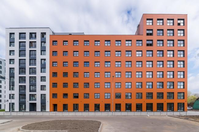 """""""Tsarskaya Stolitsa"""" housing complex © Evgeny Gerasimov and Partners"""