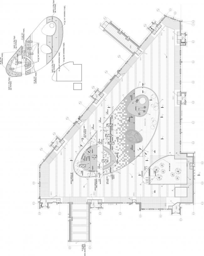 ЖК «Царская столица». Благоустройство двора, 1 очередь © Евгений Герасимов и партнеры