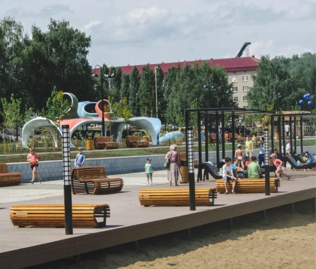 Набережная пруда Камышла © Архитекторы:  Алексей Карасев, Дарья Толовенкова