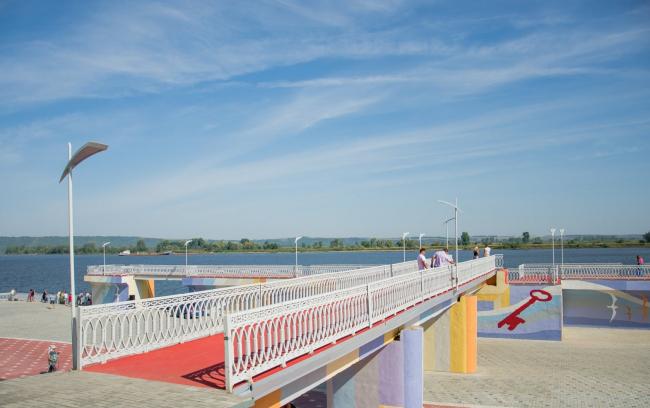 Набережная реки Кама © архитектор Эмиль Сиразитдинов