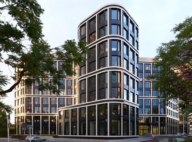 Бизнес-центр THE GRID © BN Architekten