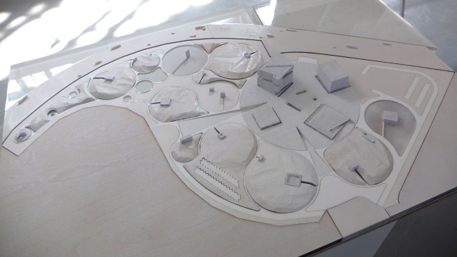 Макет музейного комплекса «Оборона и блокада Ленинграда» © Snøhetta. Фотография  © Алена Кузнецова