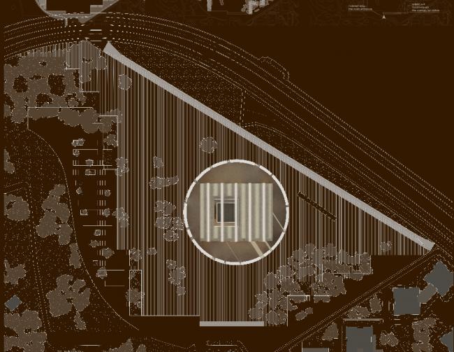 Проект музейного комплекса «Оборона и блокада Ленинграда» © Проектный институт «Арена». Изображение предоставлено Комитетом по градостроительству и архитектуре Санкт-Петербурга.