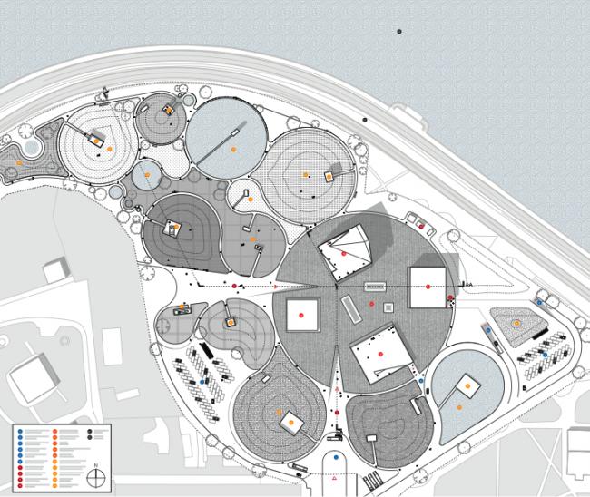 Проект музейного комплекса «Оборона и блокада Ленинграда» © Snøhetta. Изображение предоставлено Комитетом по градостроительству и архитектуре Санкт-Петербурга.