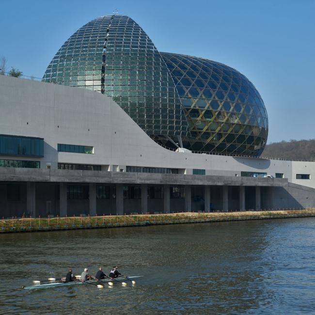 Центр La Seine Musicale © Didier Boy de la Tour