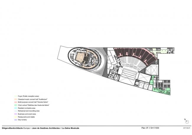 Центр La Seine Musicale © Shigeru Ban Architects