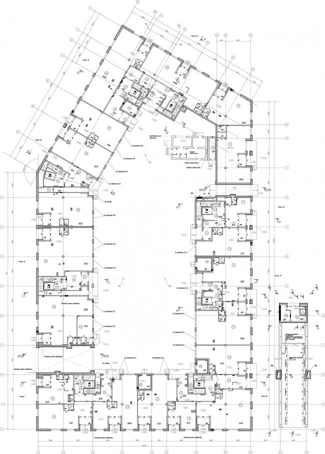 ЖК «Царская столица». 1 очередь, 1А, 1 этаж © Евгений Герасимов и партнеры