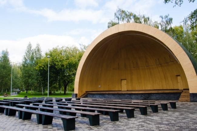 Парк «Крылья Советов» © Архитектор: Давид Дубосарский