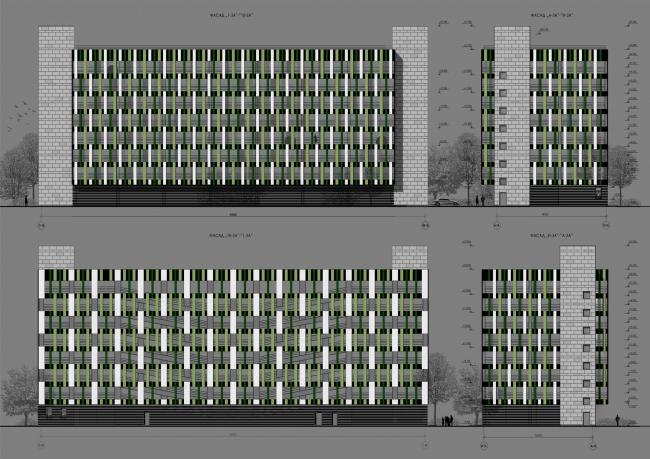 ЖК «Царская столица». 2 очередь. Фасад, корпус 3А © Евгений Герасимов и партнеры
