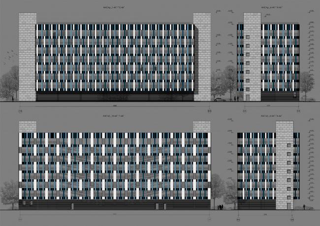 ЖК «Царская столица». 2 очередь, корпус 4А © Евгений Герасимов и партнеры