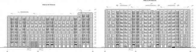 ЖК «Царская столица». 3 очередь. Фасад 6Б © Евгений Герасимов и партнеры