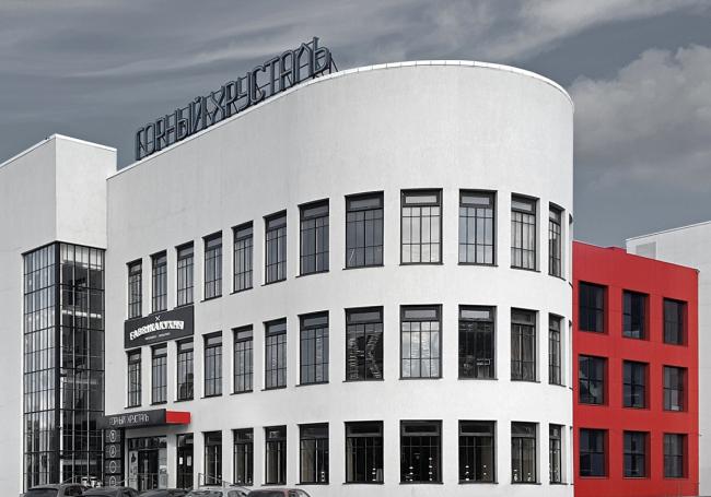 Фабрика-кухня. Торгово-развлекательный комплекс «Горный Хрусталь» © Synchrotecture